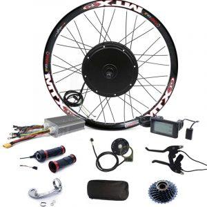 90km h max speed lcd display 3000w electric bike conversion kit 48v 72v 3000w e bike