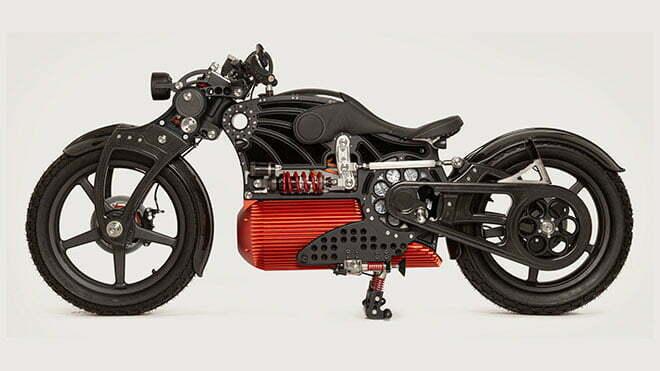 tasarimi ve fiyati cok ses getiren elektrikli motosiklet curtiss one 2