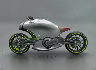 İki Tekerlekli Elektrikli Bisiklet Porsche 618 Duyuruldu