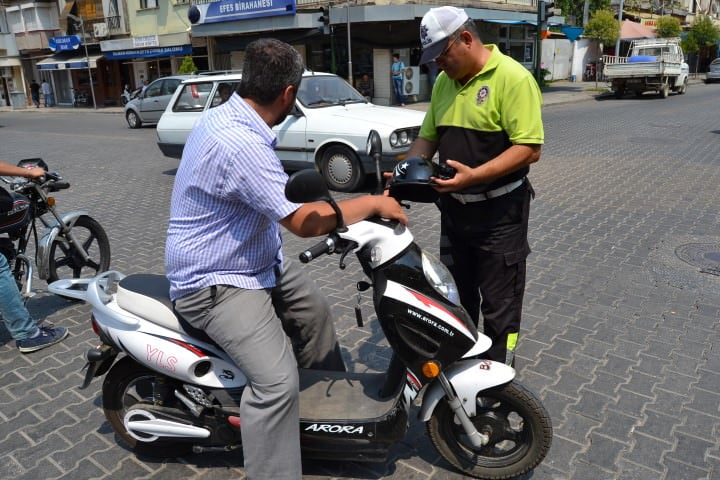 Ehliyetsiz Elektrikli Bisiklet Kullanma Cezası
