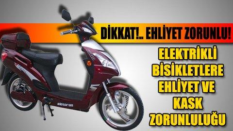 Hangi Elektrikli Motosiklet, Bisiklet için Ehliyet ve Ruhsat Gerekmiyor? 2021