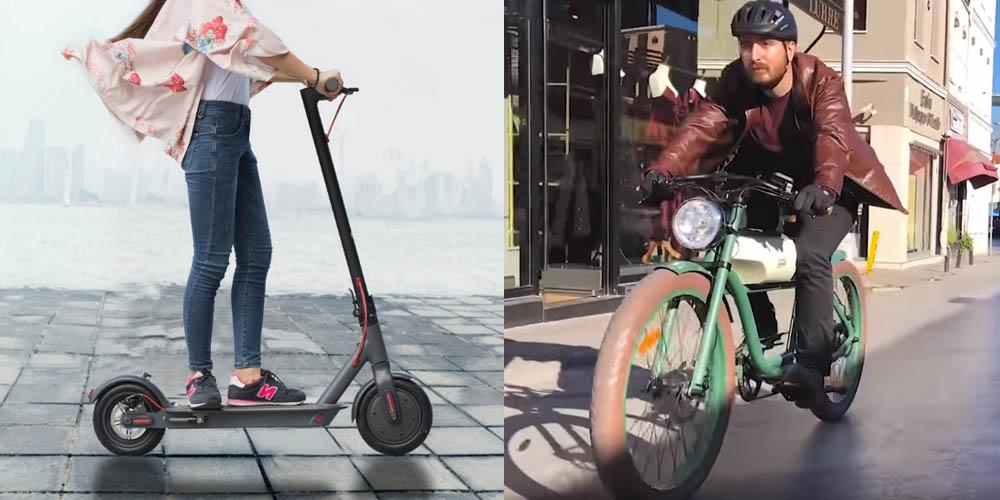 Scooter mı Elektrikli Bisiklet mi Sorusu Devam Ediyor