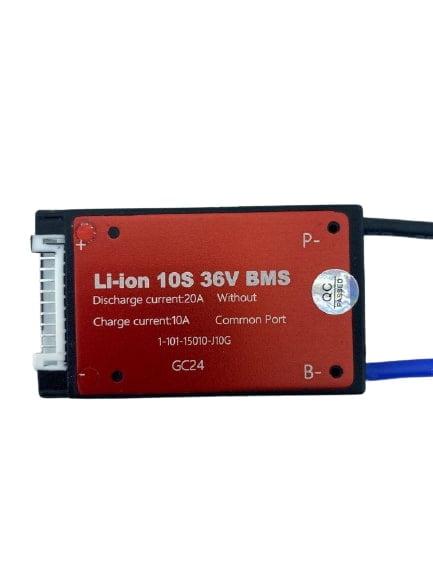 10S 36V 20ah BMS Lityum iyon Pil Paketi için